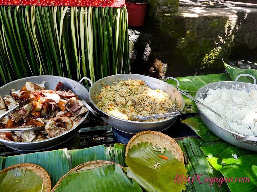 Pinoy buffet villa escudero san pablo laguna foodie for Sideboard pablo