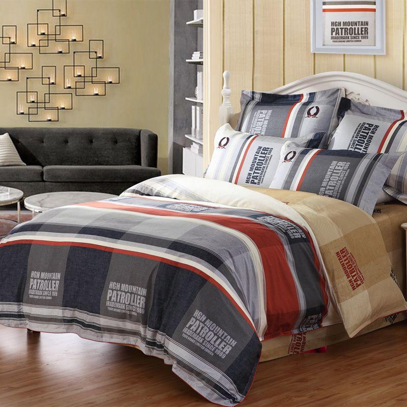 MERCURY Home Textile Holiday 4 pcs bedding set bedsheet bed spread duvet cover set