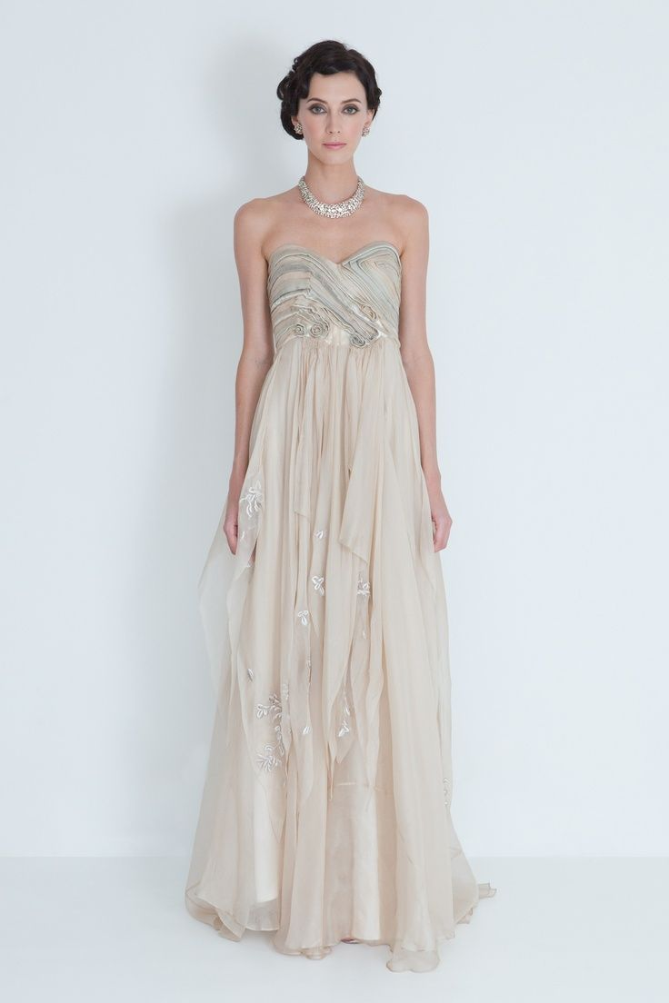 Strapless Formal Dresses With Necklace - Trends fashion and style ...