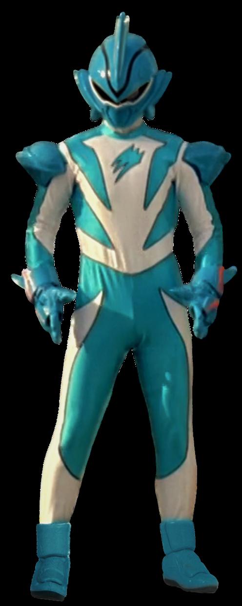 Jungle Fury Shark Ranger Transparent! by CamoFlauge on