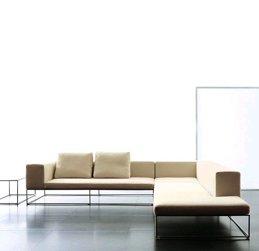 Sectional Leather Sofa Ile Collection By Living Divani  Design