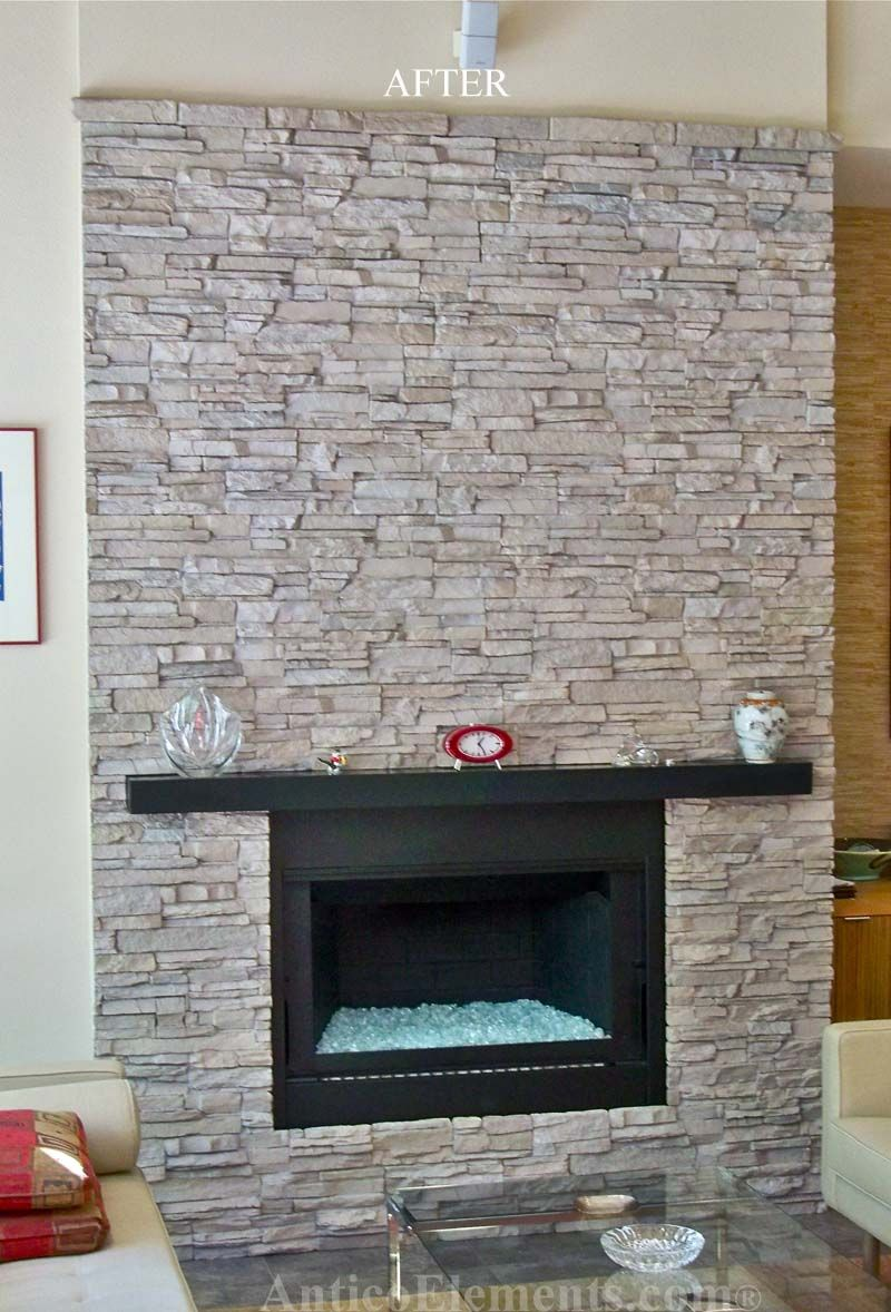 Another Fireplace Renovation By Antico Elements Our Great Faux
