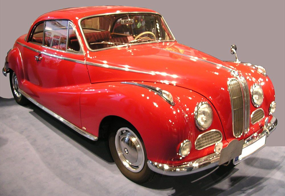 BMW 502 Coupé | bmw\'s... | Pinterest | BMW, Cars and 50s cars