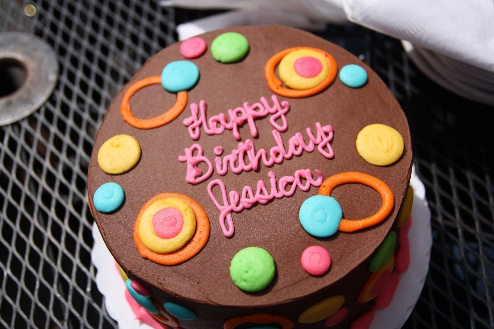 Terrific 27 Inspired Image Of Happy Birthday Jessica Cake Cake Birthday Funny Birthday Cards Online Inifodamsfinfo