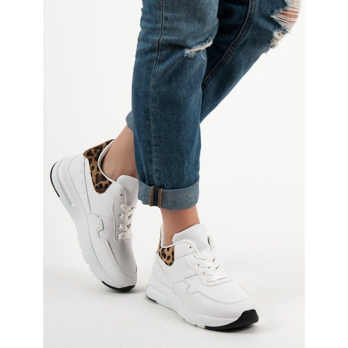 Shelovet Biale Sneakersy Sneakers Nike White Sneaker Air Max Sneakers