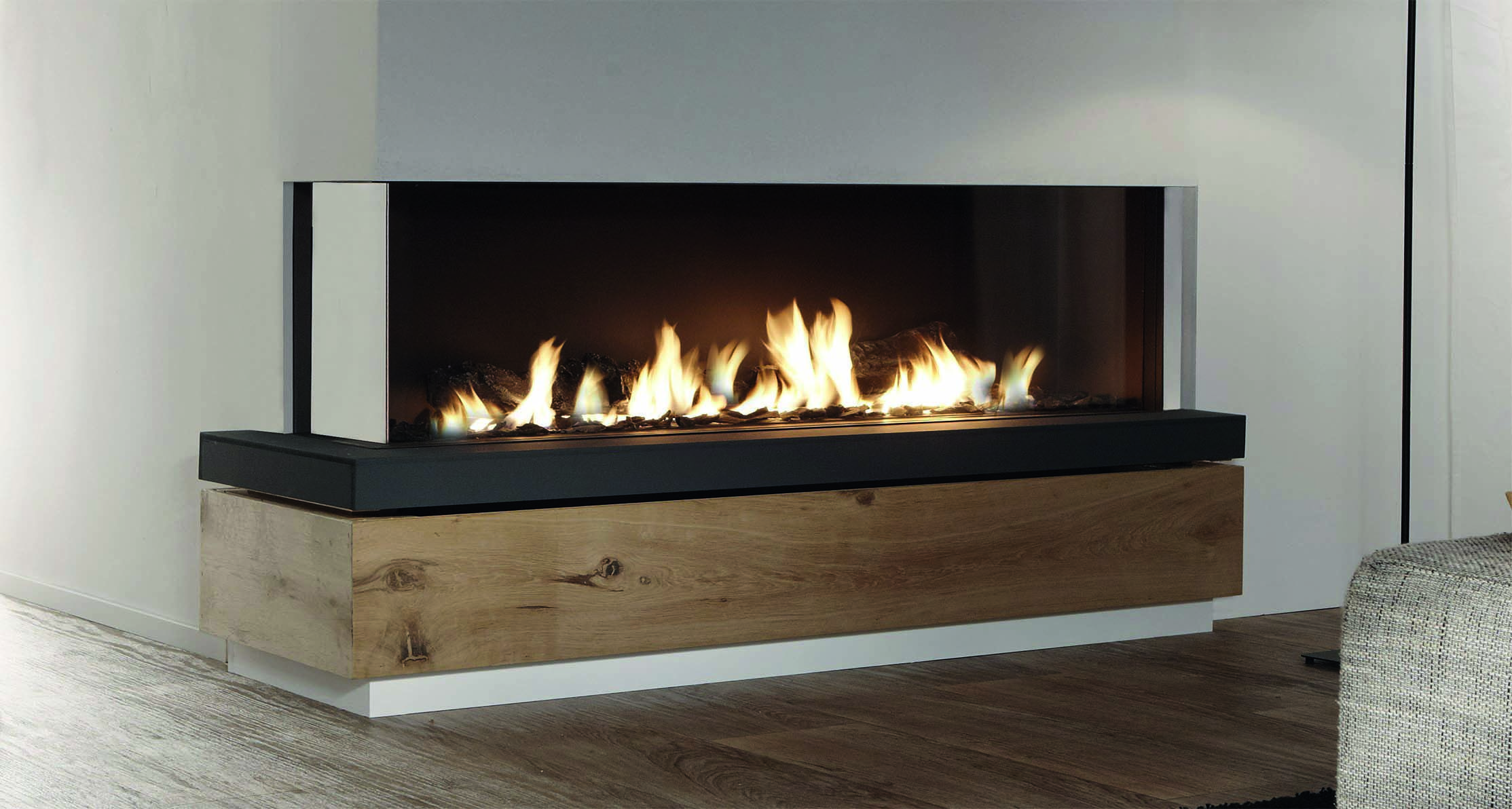 gaskamin von r egg gaskamin gas fireplace fireplace heizkamin kamin ofen wohnzimmer. Black Bedroom Furniture Sets. Home Design Ideas