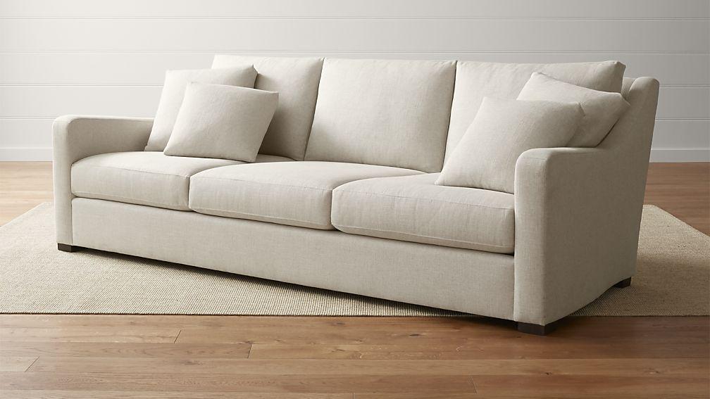 crate and barrel verano sofa customised cover singapore 3 seat 102 grande home pinterest