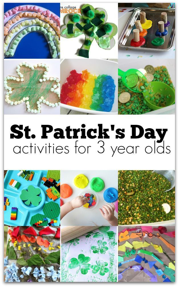 21 St. Patrick's Day Activities for 3-Year-Olds   Crafts ...
