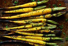 Heirloom Roasted Carrots