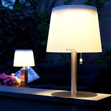 Nice Monroe 2 Solar Table Lamp By GACOLI