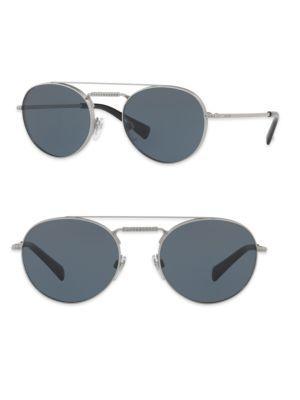 e1b890962d VALENTINO Glamtech 51Mm Round Aviator Sunglasses.  valentino  sunglasses