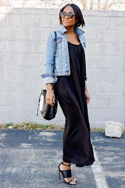 Schwarze Kleider modelle, die Ihre Silhouette bevorzugen ...