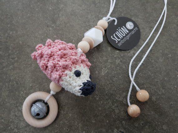 Crochet Stroller Chain Maxi Cosi Pendant Crochet Crocheted