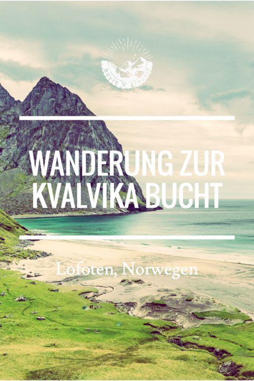Wanderung zur Kvalvika Bucht - bitte nicht nachmachen!  #Norwegen #Lofoten…
