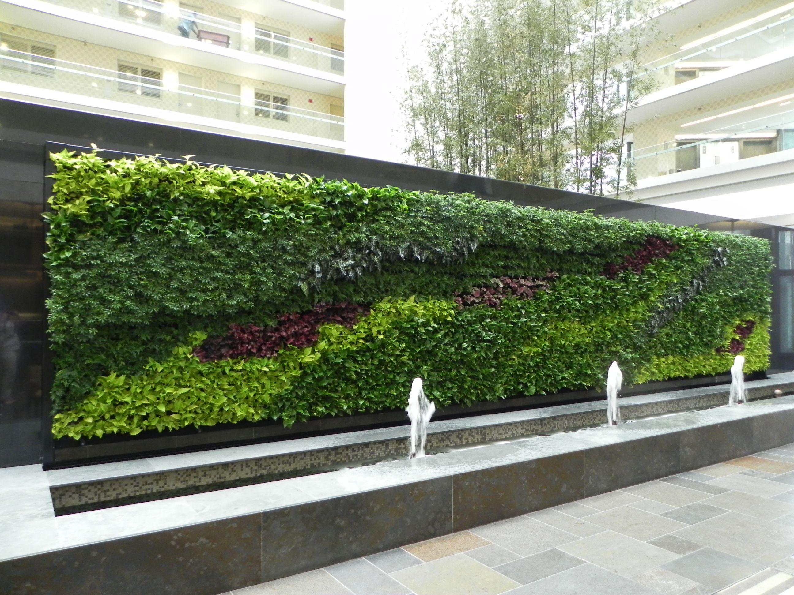Livingwalls Or Greenwalls   New Leaf Interiors   E X T E R ...