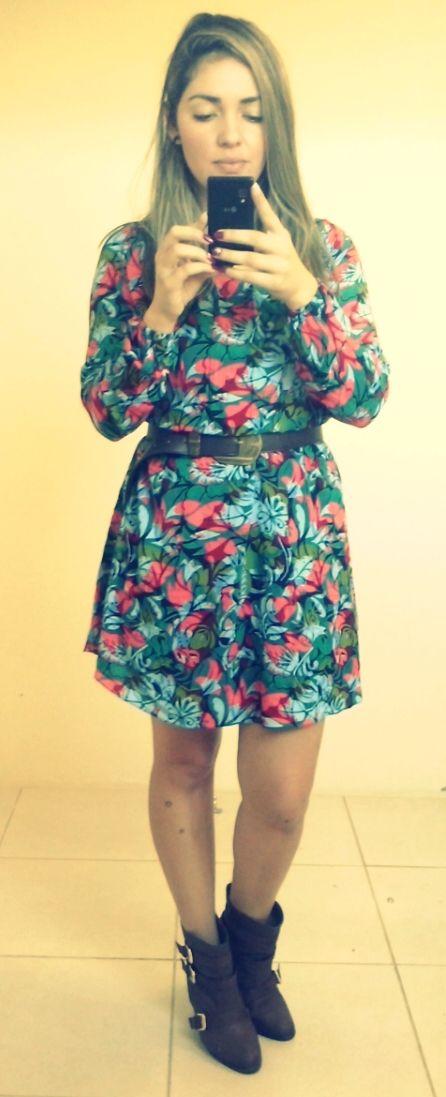 Vestido Coleção Inverno 14! Moça Bonita