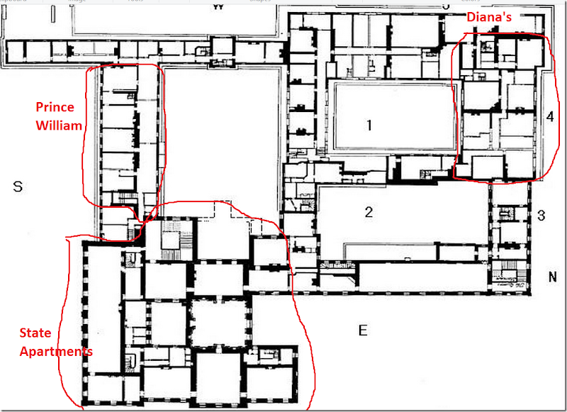 Pin By Verna Gene On Queen Mary Kensington Palace Apartments Kensington Palace Floor Plans