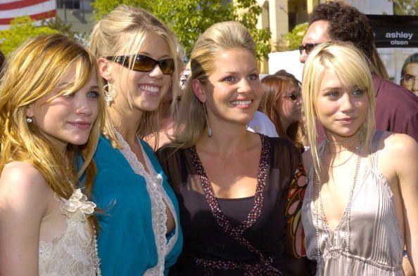 Mary Kate Olsen Jodie Sweetin Candace Cameron Bure And Ashley