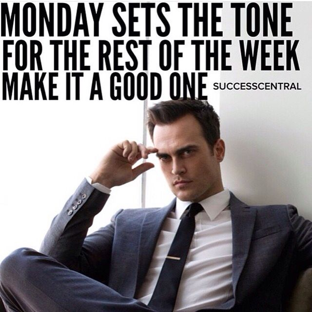 TGIM - Thank God for another Monday and great start into an awesome Week