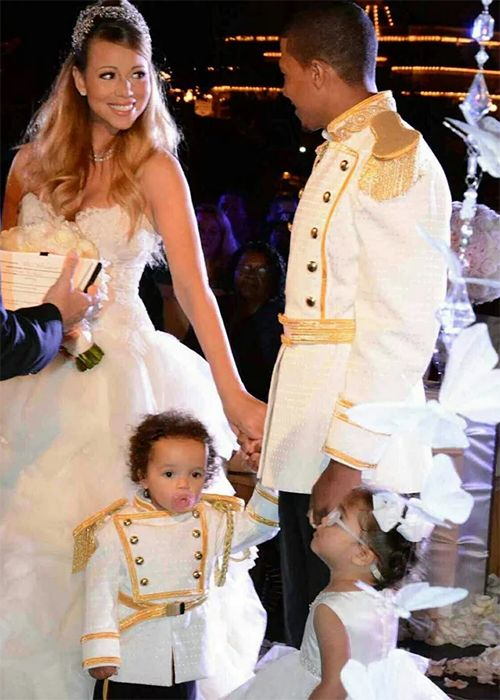 Mariah Carey S Lavish Weddings In Photos Brides