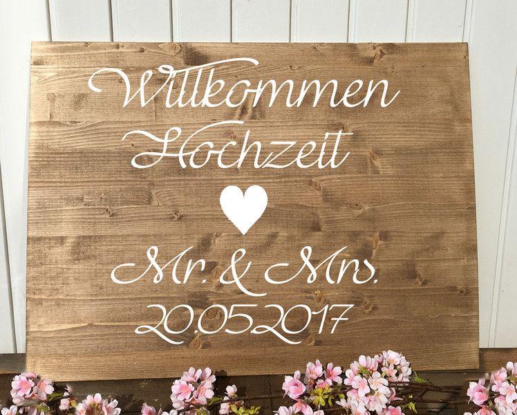 Willkommen Schild Zur Hochzeit Mit Wunschtext Etsy Ideen Fur Die Hochzeit Hochzeit Perfekte Hochzeit