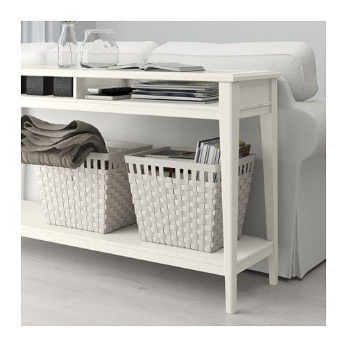 Ikea Liatorp White Glass Console Table In 2019 Ikea Sofa