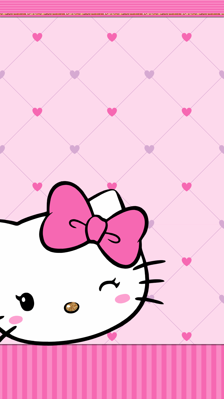 Hello Kitty Wallpaper Iphone Kartun Seni