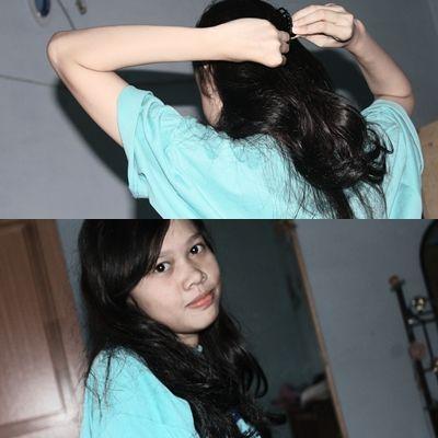me my lovely hair