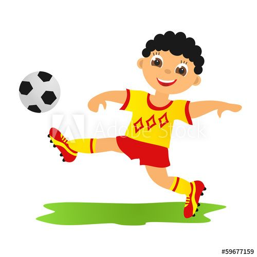 Boy Playing Football Royalty Free Images Boys Playing Stock Photos