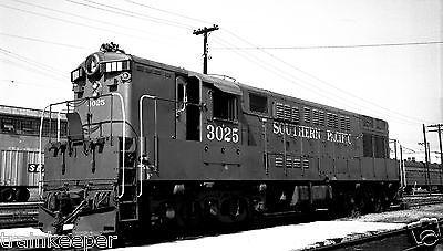 Southern-Pacific-SP-3025-Black-amp-White-Print