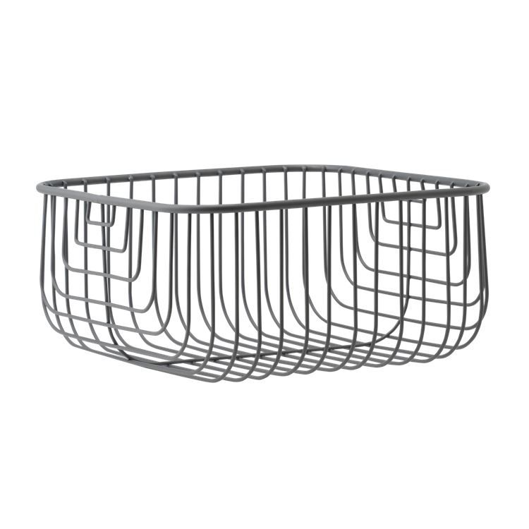 Just Wire is a graphic wire basket where you can store small items ...