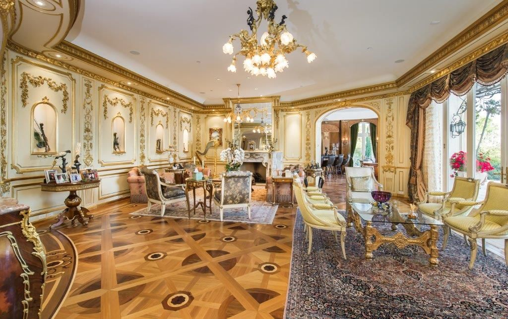 Exquisite European Villa. Listed at $18,995,000. Kevin Chu - KW Realty Beverly Hills - 310.414.7518 CalBRE#01947407