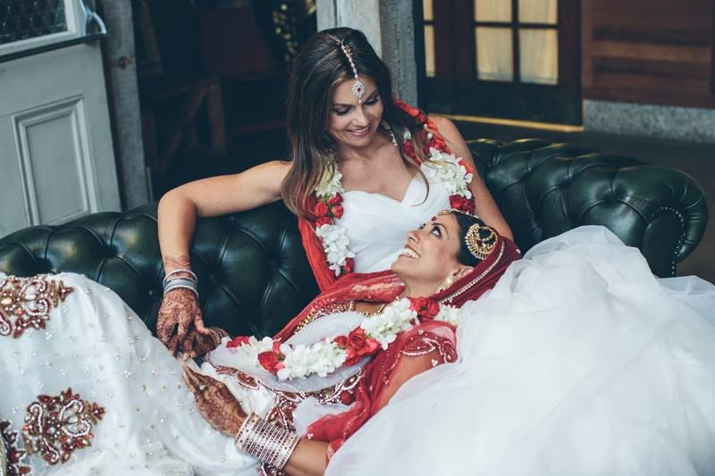 Swell 6 Things To Learn From This Indian Lesbian Wedding Hindus The O Short Hairstyles Gunalazisus
