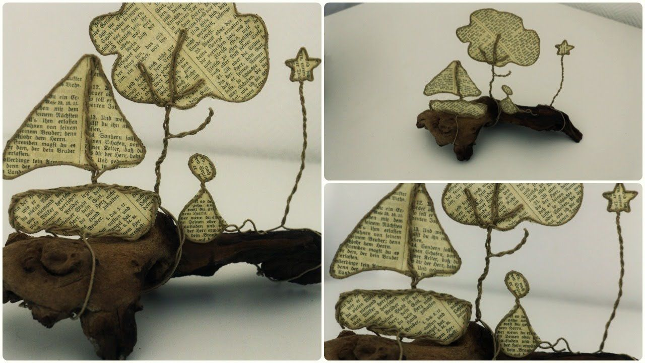 Epistyle: Draht-Skulptur * DIY * Paper Sculpture | Basteleien ...