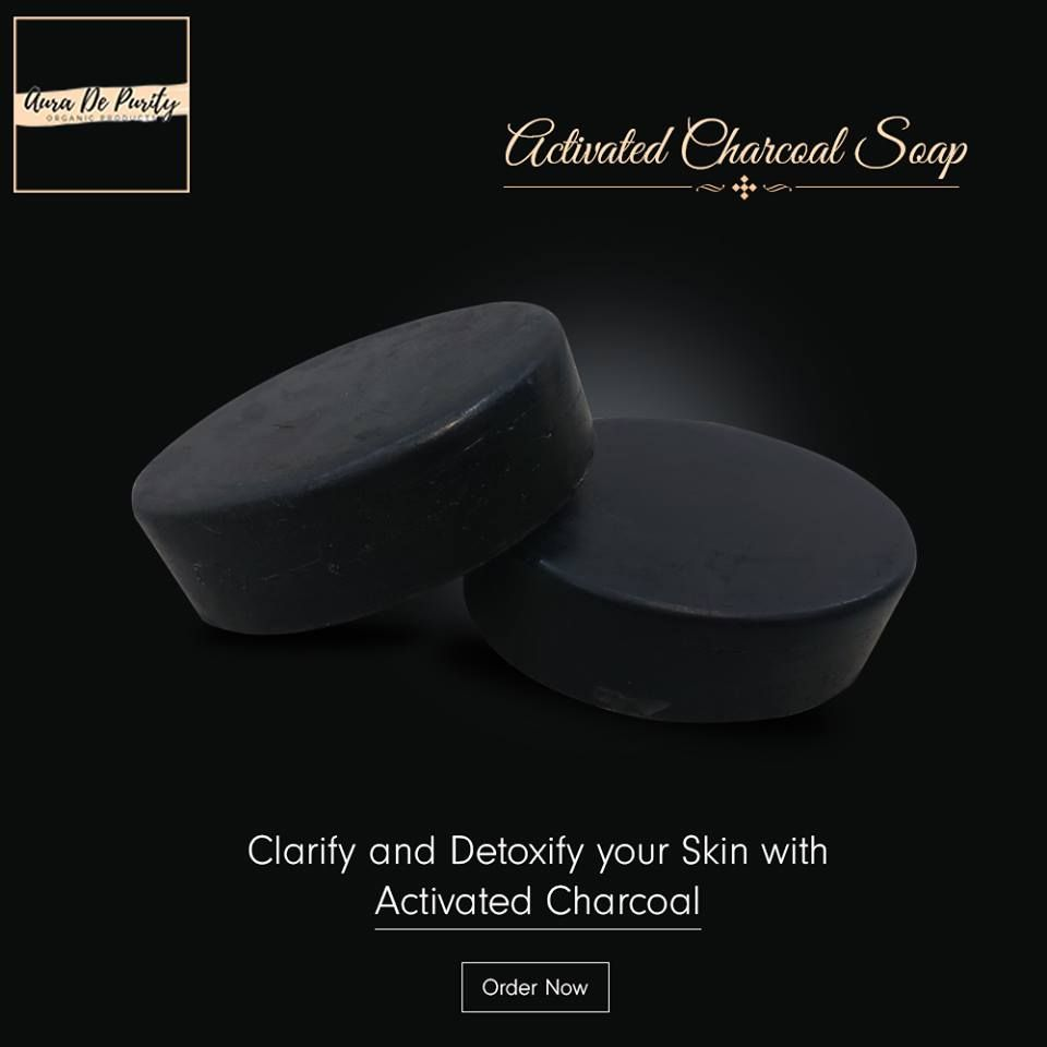 Pin By Aura De Purity On Aura De Purity Products Activated Charcoal Soap Charcoal Soap Activated Charcoal
