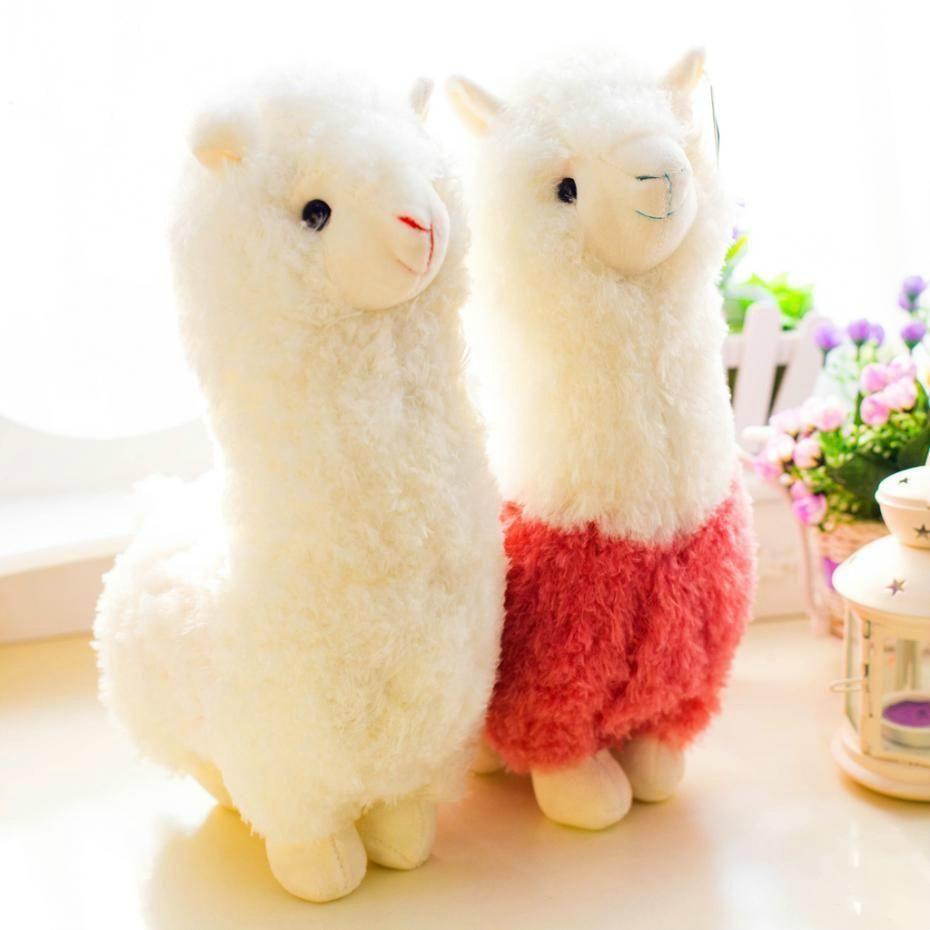 Alpaca Llama Plush Doll Toy in 2020 Sewing stuffed
