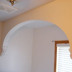 Charmant How To Make Drywall Or Sheetrock Arches And Arch Doorways