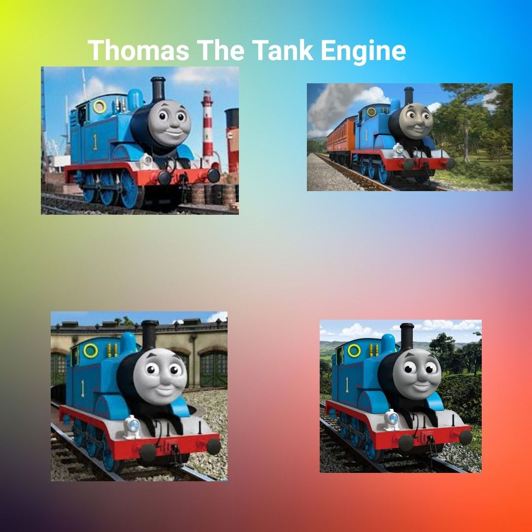 26+ Thomas characters info