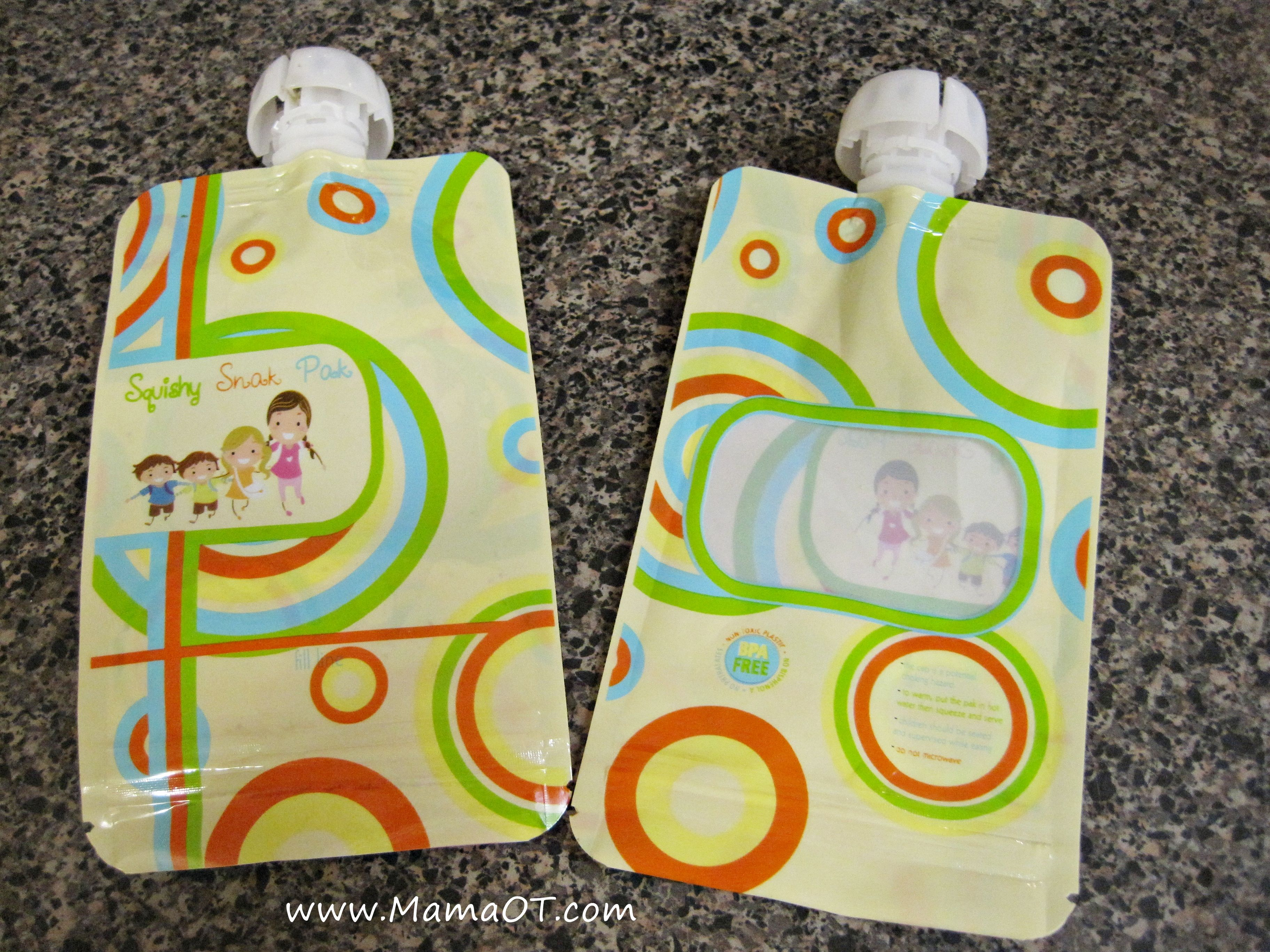Refillable Baby Food Pouches Food