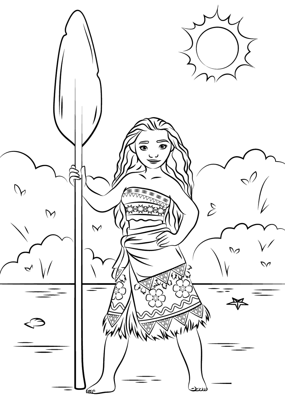 Moana Coloring Book Worksheet For Kids Educative Printable Disney Princess Coloring Pages Moana Coloring Pages Princess Coloring Pages