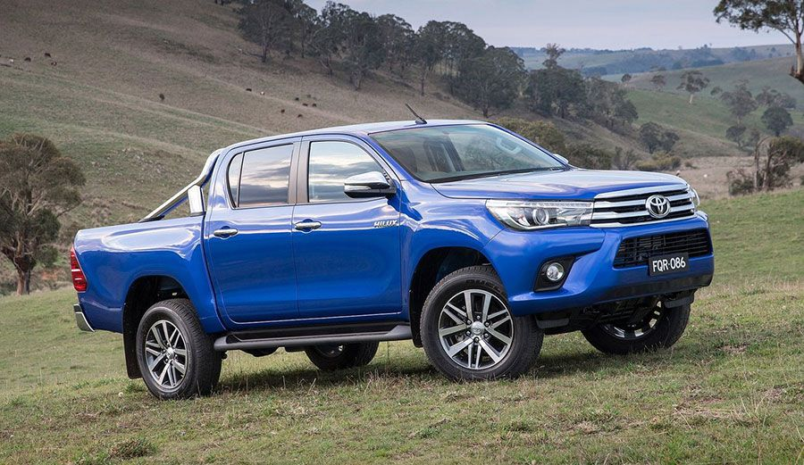 La pick up Toyota Hilux es el vehículo más vendido en el país