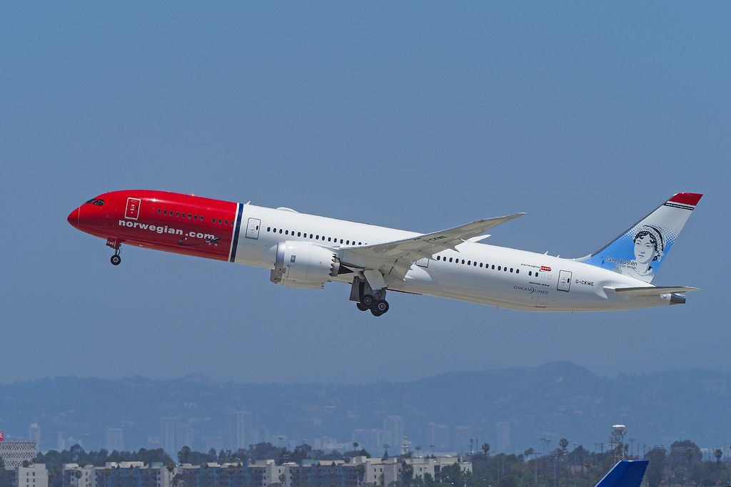 Norwegian Fleet Boeing 787 9 Dreamliner Details And Pictures Di 2020