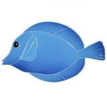 Fish Pool Mosaics - Blue Water Pool Mosaics