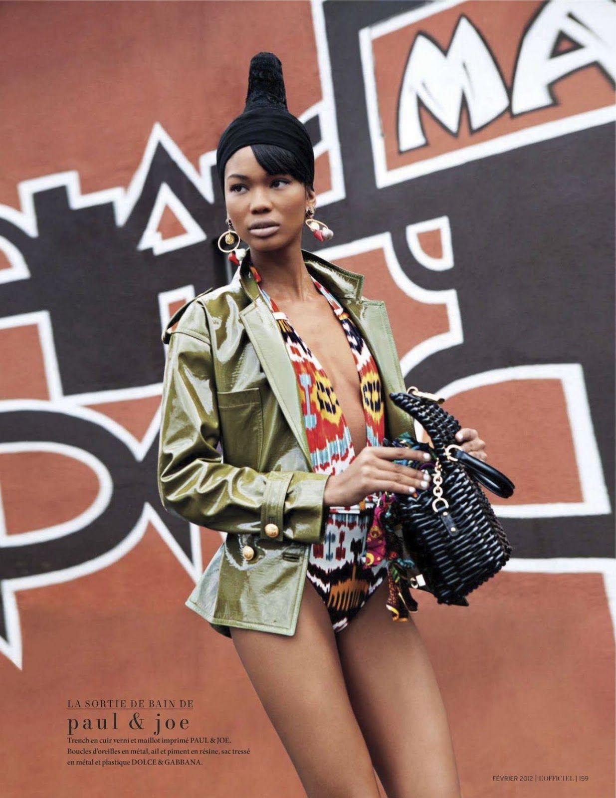 Chanel Iman shot in Cape Town (outside Marcos African Restaurant ...