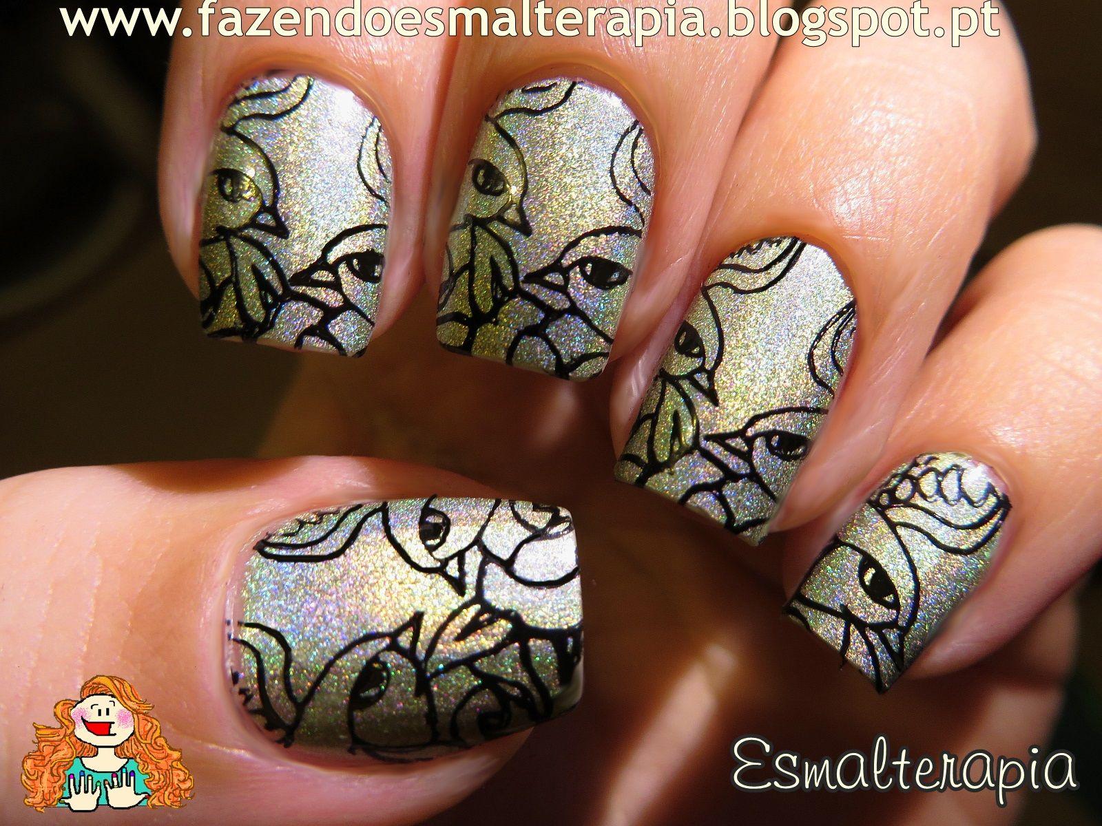 Infinity Nails - 40 | Stamping nailart 3 | Pinterest | Infinity ...