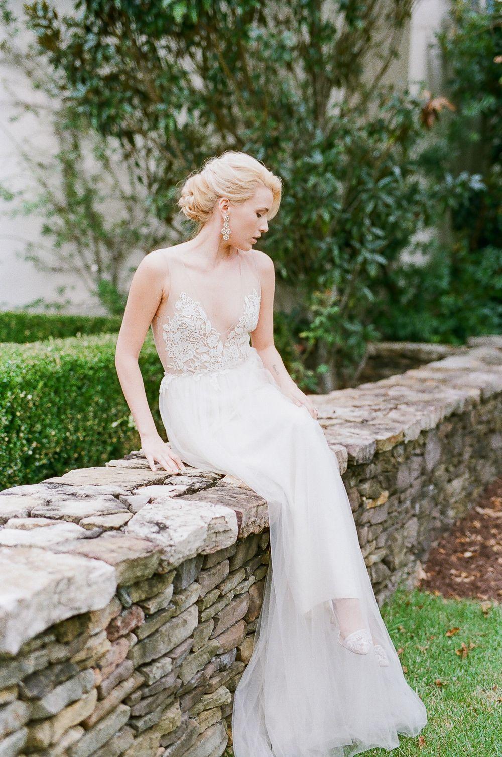 Wedding dresses for older ladies  Romantic Fall Garden Inspiration  Best Wedding Blog  Wedding Gowns
