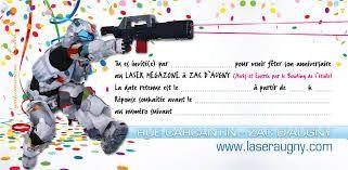 Resultats De Recherche D Images Pour Invitation Anniversaire A Imprimer Adolescent Carte Invitation Carton Dinvitation Anniversaire Anniversaire Laser Game