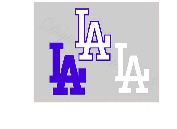 Los Angeles Svg And Studio 3 Cut File Cutouts Files Logo Stencil For