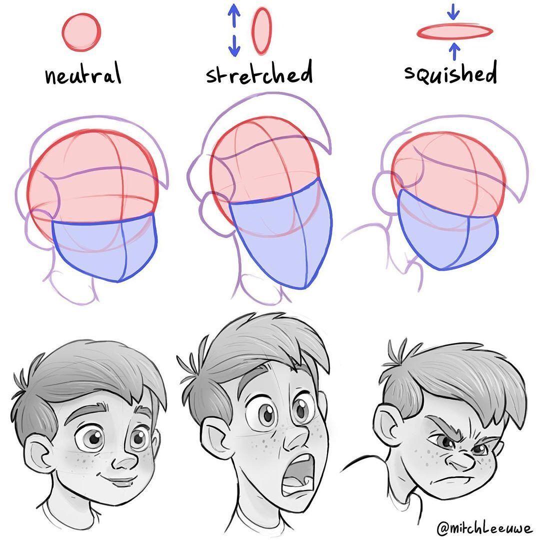 20 Best Digital Art Face Drawing Tutorials Hm Art In 2020 Drawing Tutorial Face Drawing Expressions Drawing Tutorial