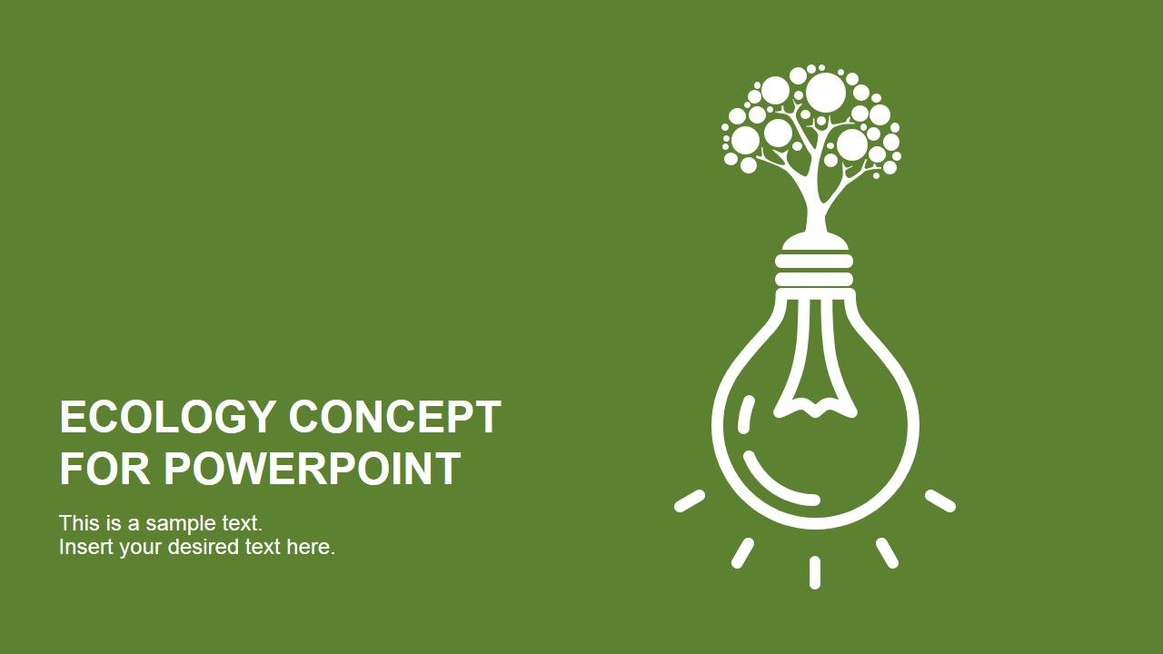 Ecology concept powerpoint template design presentation topics ecology concept powerpoint template design alramifo Images